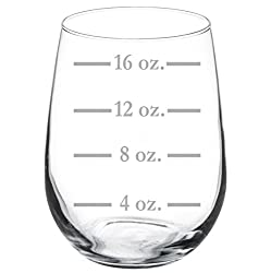 wine glass goblet measuring cup