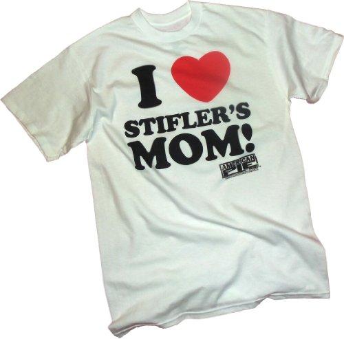 I (Heart) Stifler's Mom! - American Pie T-Shirt, Small White