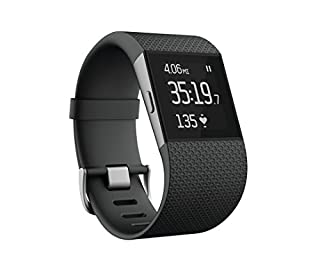 Fitbit Surge Fitness Superwatch, Black, Large (US Version) (B00N2BWF6Q) | Amazon price tracker / tracking, Amazon price history charts, Amazon price watches, Amazon price drop alerts