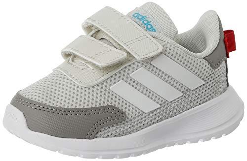 adidas TENSAUR Run I, Scarpe da Ginnastica Unisex-Bambini, Orbit Grey/Ftwr White/Dove Grey, 26 EU