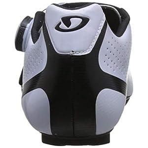 Giro Factress Techlace Womens Road Cycling Shoe − 37, White/Black (2019)