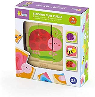 Wooden Stacking Cube Puzzle-Wooden Educational Toys