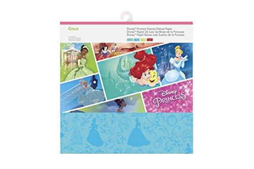 Cricut Deluxe Paper, Princess Dreams Disney Princess 12x12 Paper