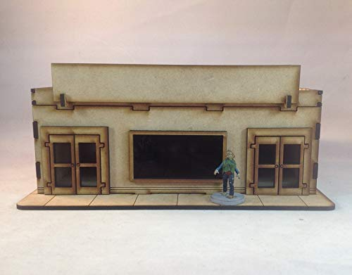 Store Front BC200 28mm Building Kit Laser Cut Terrain The Walking Dead All Out War
