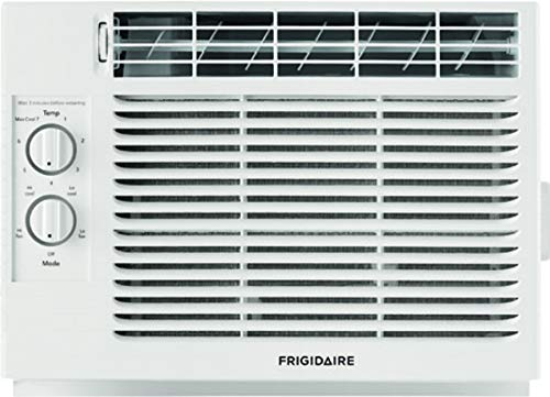 Frigidaire White FFRA051ZA1 17 Window Air Conditioner with 5000 BTU Cooling Capacity-115V