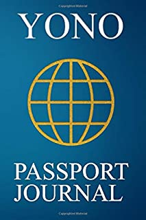 Yono Passport Journal: Blank Lined Yono (Japan) Travel Journal/Notebook/Diary - Great Gift/Present/Souvenir for Travelers