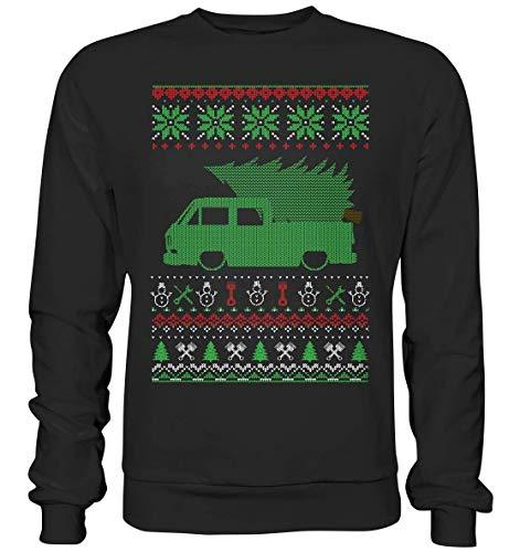 glstkrrn T3 Doka Bus Bulli Van Transporter Ugly Christmas Sweater