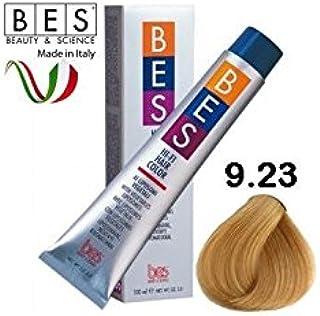 BES - Tinte Hi-Fi Color, 9.23 rubio claro medio irisado ...