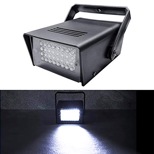 Luz estroboscópica, luz estroboscópica led atómica, 32 piezas luces intermitentes led blancas superbrillantes