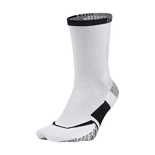 Nike U NG Cushioned Crew - TN Calze per Uomo, Bianco (White/Black), S