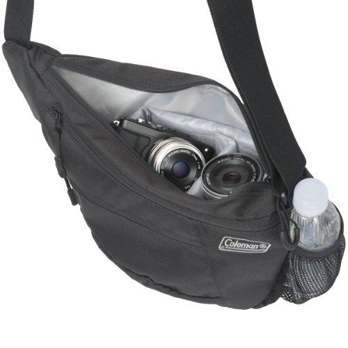 エツミ&Colemanコールマンカメラショルダーバッグ2LCO-8700ブラック