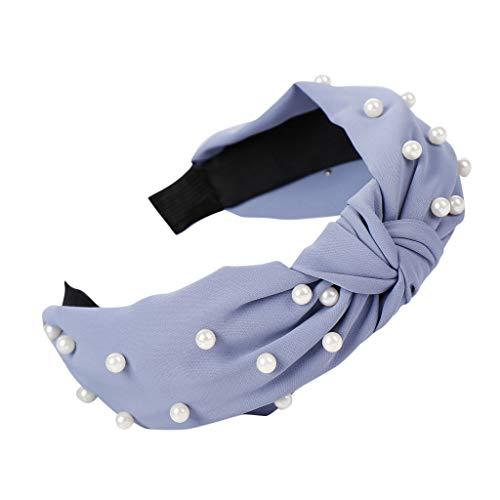 Yvelands Damen Mode Stirnbänder Breit Haarbänder Bogen Knoten Haarband Frauen Haar Kopfband Einfache Süße Mädchen Haar Stirnband Haarschmuck