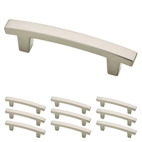 kitchen hardware brushed nickel - 5
