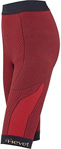 Teyder 924PT-189-S/M - Hevet Shapecell Sport Pantalón Short Reductor, Pequeño/Mediano Rojo/Negro