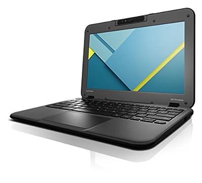"Lenovo Chromebook N22 11.6"" Notebook, IPS Touchscreen, Intel N3060 Dual-Core, 16GB eMMC SSD, 4GB DDR3, 802.11ac, Bluetooth, ChromeOS"