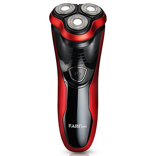 FARI Electric Shaver Razor for Men, Waterproof Shaving Razors with Pop-up Trimmer, Wet