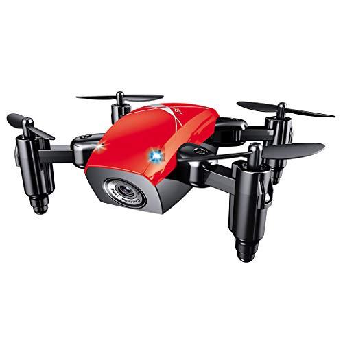 Faguo S9HW Mini Drone S9 sin cámara RC Helicóptero Plegable Drones Altitude Hold Quadcopter