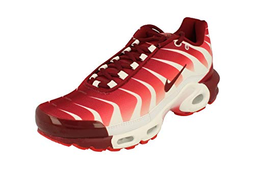 Nike Air MAX Plus TN SE Hombre Running Trainers AQ0237 Sneakers Zapatos (UK 6 US 7 EU 40, White Team Red 101)