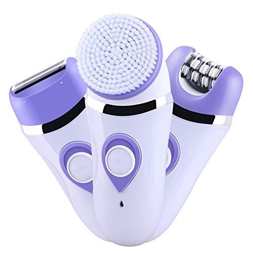 Dispositivo de depilación eléctrico multifunción femenino, recortador de bikini 3 en 1 sin dolor, herramienta especial para la depilación