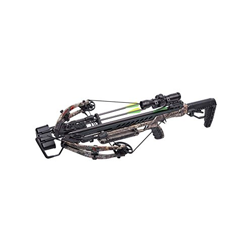 CenterPoint AXCG200CK2 Gladiator 405 Realtree Xtra- Crossbow Package, Camo