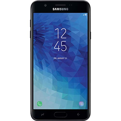 Simple Mobile Samsung Galaxy J7 Crown 4G LTE Prepaid Smartphone (Locked) - Black - 16GB - Sim Card Included - GSM