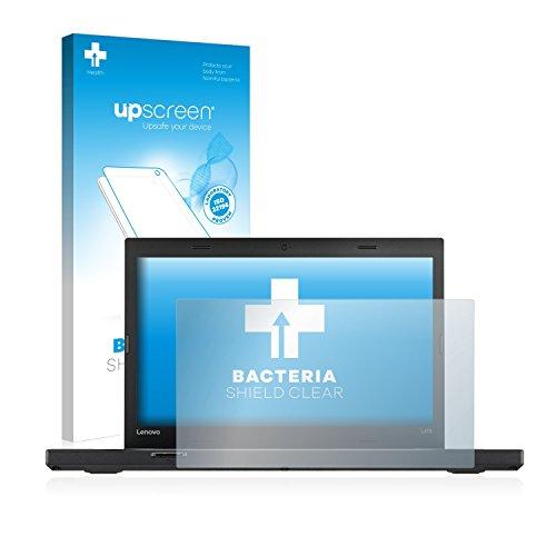 upscreen Antibakterielle Schutzfolie kompatibel mit Lenovo ThinkPad L470 klare Bildschirmschutz-Folie