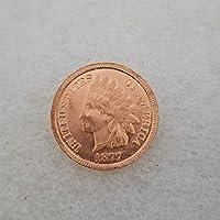 絶妙なコインアンティーク工芸品アメリカン18771コインシルバーダラーシルバーラウンド外国貿易コレクション