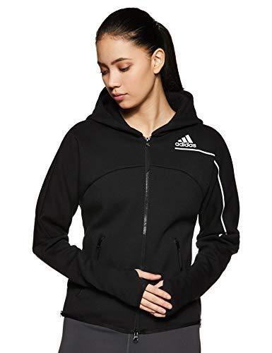 adidas Damen Hoodie Z.N.E Hoodie, Black, M, GM3275