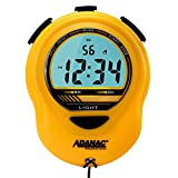 MARATHON ST083013YE Adanac Digital Glow Stopwatch Timer with Extra Large Display and Digits - Battery Included (Yellow)
