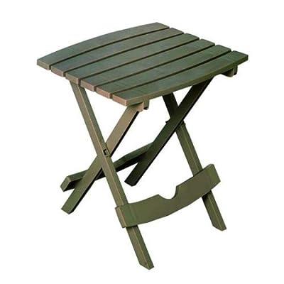 Adams Manufacturing 8510-96-3700 Quik-Fold Side Table, Portobello