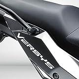 Blanco Brillante Motocicleta Superbike Pegatinas Calcomanías Pack Impermeable Kawasaki Versys