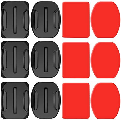 Neewer 3-Pack Klebebänder mit Sticky Pads für GoPro Hero Session 5 Black AKASO EK7000 Apeman SJ4000 DJI OSMO Action DBPOWER AKASO VicTsing WiMiUS Rollei QUMOX Lightdow Campark