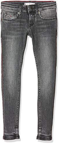 Tommy Hilfiger Mädchen Nora Rr Skinny Rogst Jeans, Blau (Denim 1cd), 140 (Herstellergröße:10)