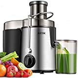 "Juicer Centrifugal AICOK Juicer Machine 3 Speed Mode Wide 3"" Feed Chute Juice Extractor for Whole..."