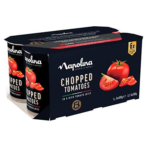 Napolina Chopped Tomatoes, 6 x 400g