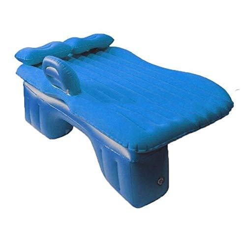 N\A ZT Car Back Seat Cover Car Air Mattress Travel Bed Inflatable Mattress Air Bed Split Water Floating Raft,Inflatable Mattress Car Car Inflatable Mattress Bed (Size : Blue)