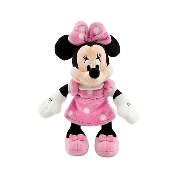 "Disney 8"" Minnie Mouse in Pink Dress Plush by Disney 2"