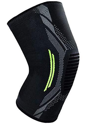 膝サポーター スポーツ 登山 痛み 膝関節-固定-怪我防止-筋肉保護-保温-通気性-伸縮性-ひざ-さぽーたー-男女左右兼用-サイズ選択-1枚入り【SPICALME】(XL)