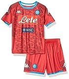 SSC Napoli Kit de primera equipación de portero para niños temporada 2019/2020