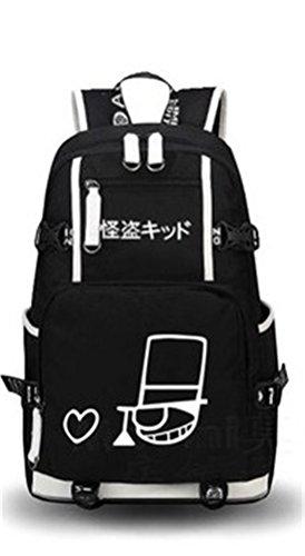 Siawasey - Mochila para cosplay, diseño de anime japonés, Conan3