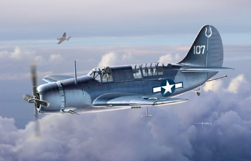 1/72 WW.II U.S. Navy SB2C-3 Helldiver (japan import)