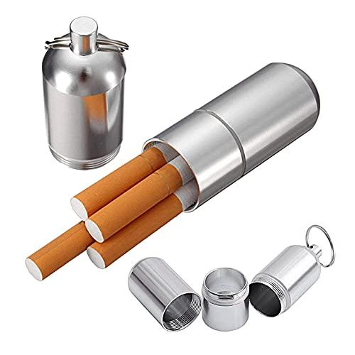 TrifyCore Mini pitillera de Aluminio Soporte con Llavero para Hombres,...