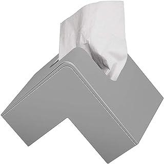 Tkanka uchwyt na skrzynkę tkanki okładka Nordic Creative Triangle Folio Tissue Box Pokrywa Proste Nowoczesne Plastikowe Po...