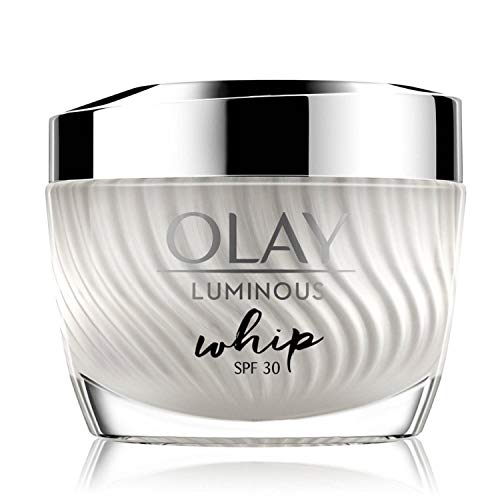 Olay Face Moisturizer: Luminous Lightweight Whip Cream Without Greasiness SPF30, 50g