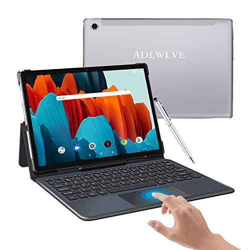 Tablet 10.8 Pollici Android 10 OS, 16:10 FHD, 10-Core 2.3GHz Tablet PC 6GB+128GB-Google GMS - Espanso 512GB,Doppia SIM  8000mAh  Bluetooth  GPS  5G Doppia WiFi & Fotocamera,Face ID/Type-C (argento)