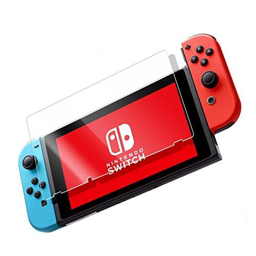 2x Protector de Pantalla para Nintendo switch, Cristal Templado Para Nintendo switch Anti-rreflejos Anti-huella Digital Sin Burbujas Vidrio Templado Proteger Película - GEMYON