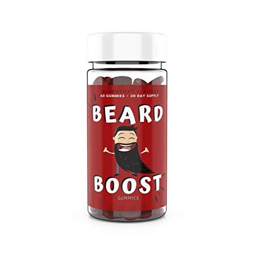 Beard Boost Gummies - Beard Growth Supplement to Promote Facial Hair Growth