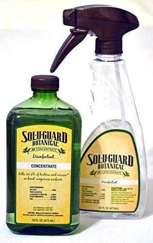 Melaleuca Sol-U-Guard Botanical 2x Disinfectant with Spray Bottle
