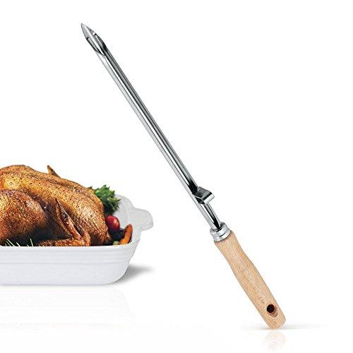 Metaltex Aguja para MECHAR Carne, Acero INOX, Estandar
