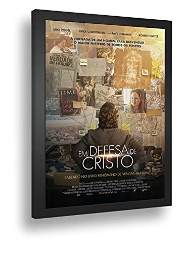 Quadro Decorativo Poste Em Defesa De Cristo Suspense Retro